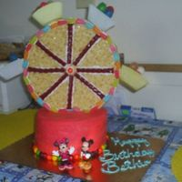 Mickey Mouse Ferris Wheel Cake