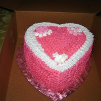 Birthday Heart Cake