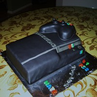 Ps3 Birthday Cake