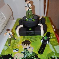 Ben 10 Cake Ben 10 is an alien super hero on cartoon network. My son is obsessed, this was his 7th birthday cake.
