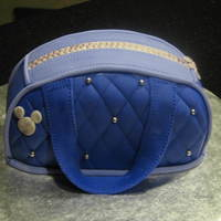 Yet Another Purse Cake   This one is actually only 3 inches tall and 5 inches long. Just a tiny personal size one :)