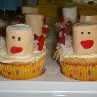 Turkey Cupcakes   Coconut cream cupcakes. Inspired by Martha Stewart