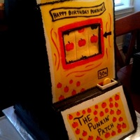 Slot Machine I named this cake 'The Beast' While it was fun to make, it weighed near 30lbs! Customized to customers specifications. about 12&...