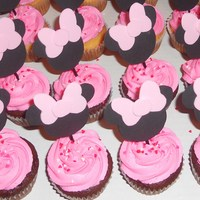 Minnie Mouse Cupcakes minnie mouse cupcakes