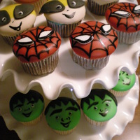Cupcakes De Superheroes Marvel Super Mini Heroes