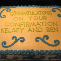 Confirmation Cake Confirmation Cake