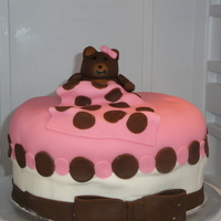 Pink, Bear Baby Shower