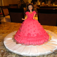 Princess Cake barbie doll princess cake