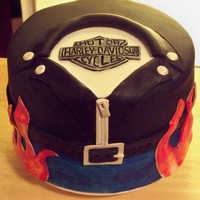 Harley Cake Thanks for the great idea jennbradshaw. Always such great inspiration here. TFL