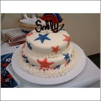 Sally's Big Day This cake I made for a lady that had gotten her citizenship. Way to go!