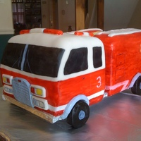 First Fire Truck This was my first attempt at making a fire truck. I made it for my friends son that just turned 3. My intent was not to hand paint the...