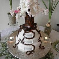 Tree Of Life Baby Blessing Cake