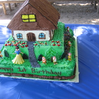 Snow White And The Seven Dwarfs Cottage