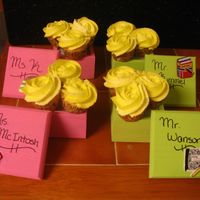 Mini Cupcake Boxed Bouquets   dd did for her teachers as a thank you.