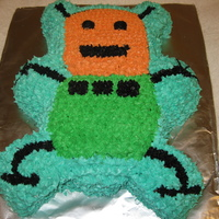 Birthday Robot I made this cake for a neighbor boy's birthday. His Mom had lent me a drawing the boy had made so this cake is based of his of his...