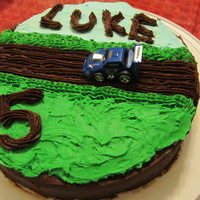 Simple Race Car Cake!