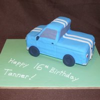 Truck  Since I made this cake I've sworn off 3D cakes for a while! It was not easy and I don't think it turned out well but the 16 year...