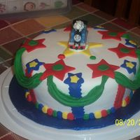 Thomas Cake My first fondant cake ever!!! my son loved it, especially the colors. I made it for his 3rd b-day. I sure do need to practice..practice......