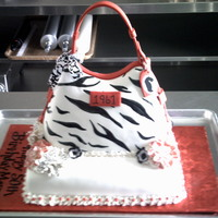 Dooney & Bourke 3D 50Th Anniversary Cake