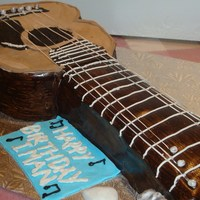 Guitar Cake My first guitar cake