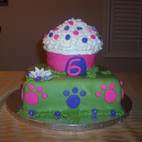 Littlest Pet Shop I made this cake for my daughter's 6th birthday. She told me it was the best cake she had ever seen. It's not perfect, but it was...