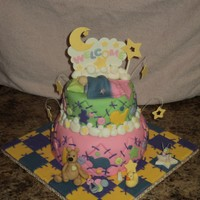 Baby Shower Cake - Andrea Sullivan I took a class with Andrea Sullivan on how to make this beautiful cake! I hope you like it!