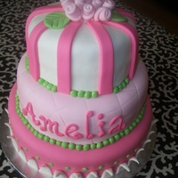 Pretty In Pink Princess Cake MMF