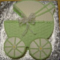 Baby Carriage - Green