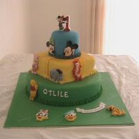 Disney Birthday Cake
