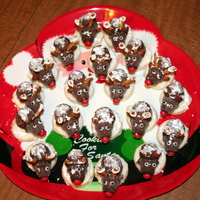 Mr And Mrs Rudolph & The Herd my version of the chocolate covered mice/rudolph cookies