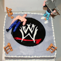 Wwe 6 year old birthday cake