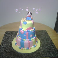 1St Birthday It is tilted, but still cute. This client sent a picture they wanted copied, I did my best.
