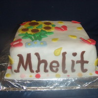 Mheltz Cake my b-day cake!