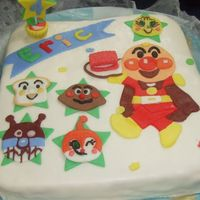 Anpanman Anpanman, it's a very popular among children who live in Japan