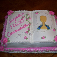 First Communion Cake Girl First Communion Cake Girl