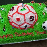 Soccer/spiderman Birthday Cake Soccer/Spiderman Birthday Cake