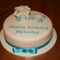 Tiffany Box Cake Tiffany box style cake