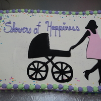 Baby Shower Silhouette
