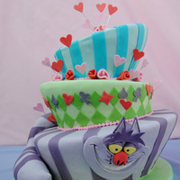 Mad Hatter Alice In Wonderland Cake