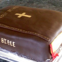 "Bible This is probably the best cake that I have made. I made it for a church party. I used two 9""x13"" layers on top of each other with..."