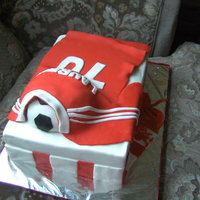 Lfc Shirt Cake liverpool shirt cake for the man turning 70 and a fan of LFC.thanks to pemaanso for letting me to copy her design and to all CC's for...