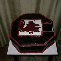 Usc - Grooms Cake Grooms cake made for the South Carolina Gamecock Fan :-)