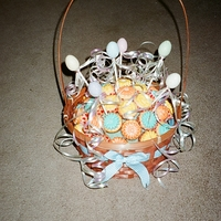 Mini Cupcake Easter Basket