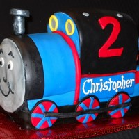 Thomas The Train Cake Lots of carving to make this cake!