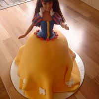 Snow White This was my 1st doll cake and I really enjoyed making it.