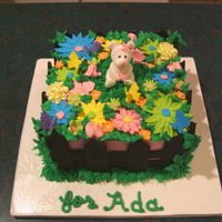 Colorful Spring Garden Cake