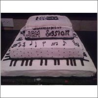 Piano Cake The Prophet Bar is a night spot in Dallas' art district Deep Ellum that host's am amature night every Wednesday night and they...