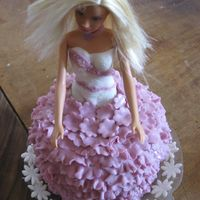 A Princess Cake For My Princess A Princess doll cake I made for my daughter....