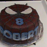 Spiderman Cake This is my second cake and first attempt at homemade mmf. I turned out pretty good and tasted great. Getting the right color was a bit of a...