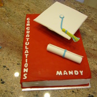 Mandy's University Graduation  Inspiration from a photo seen here on CC by GrozdankaChocolate cake with Peanut Butter mousse filling and chocolate peanut butter...
